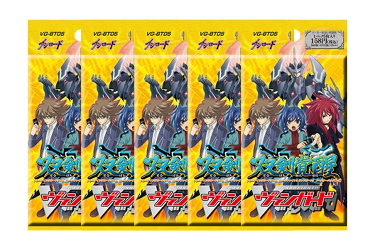 Cardfight Vanguard Awakening of the Twin Blades BT05Booster Pack